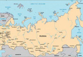 La longitud total de las fronteras de Rusia