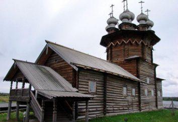 Chiesa di legno russa. Kizhi: monumenti di architettura in legno Russia