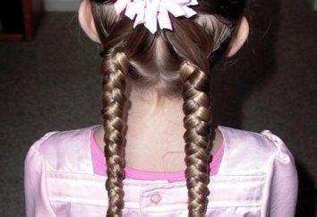 coiffures belles pour les filles – la meilleure façon d'élever une dame