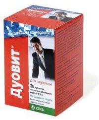 """Vitamina complesso """"Duovit"""" per gli uomini: recensioni, composizione, caratteristiche della preparazione"""