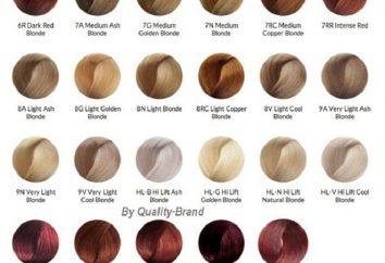 """farbowania włosów """"Brilians"""": paleta na każdy gust"""