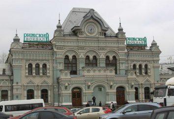 stazione di Riga. Mosca, stazione di Riga. stazione