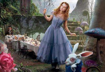 """Alice in Wonderland"" filme. citações"