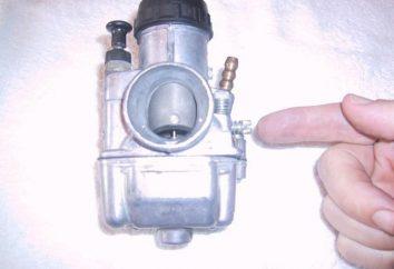 Einstellen des Vergasers K-68. Vergaser für Motorräder