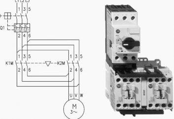 Schemat elektryczny rozrusznika magnetycznego Instrukcji