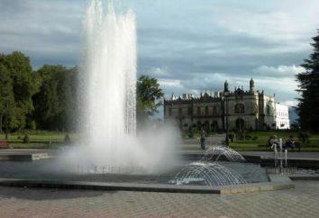 Dadiani Palace – le plus beau des palais des princes géorgiens. Localisation, itinéraire