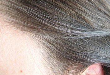 Frühe graue Haare: Ursachen und Behandlung bei Frauen und Männern