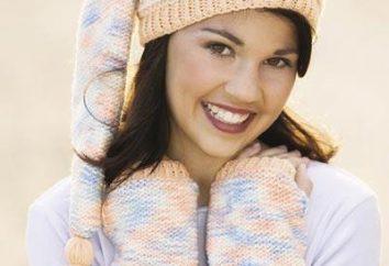 sombrero de punto, radios de siembra – vestido de moda!