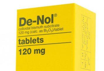 """Il farmaco """"De-Nol"""": la composizione del farmaco, le istruzioni, le indicazioni, gli analoghi e le revisioni"""