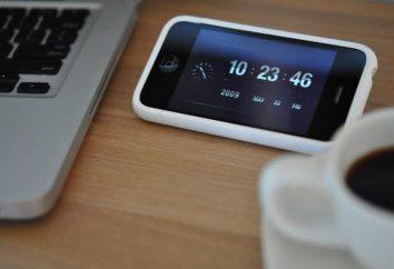"""En cuanto al """"iPhone"""" para transferir el tiempo? Cómo transferir al horario de invierno en el """"iPhone""""?"""
