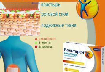 """""""Voltaren"""" – tynk, łagodzi bóle pleców, bóle mięśni i stawów. Instrukcje użytkowania"""