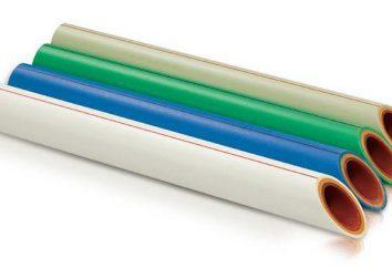 Quel est le polypropylène renforcé par des fibres? tubes en polypropylène renforcé: avantages et inconvénients