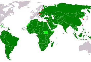 Lista de países en desarrollo. Tercer Mundo en un sistema unipolar