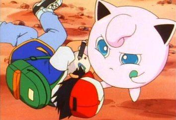 Pokemon Dzhigglipuf – pequeno milagre rosa com uma bela voz e um marcador na mão