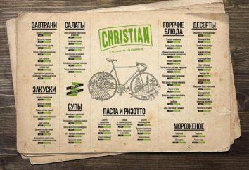 Dove mangiare a Mosca? Ristorante Cristiana – cibo per l'anima