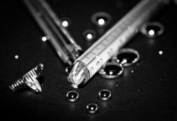 Quelle quantité de mercure dans un thermomètre: balles et grammes