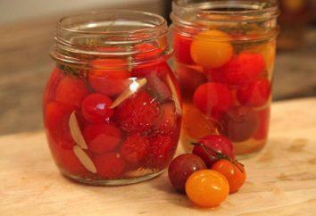 Preparación de los tomates para el invierno con ácido cítrico