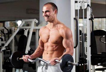 Comment faire des biceps efficaces barbell de levage?