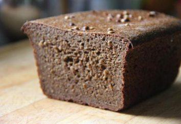 Negro Borodino pan: el daño y el beneficio, la composición y las propiedades