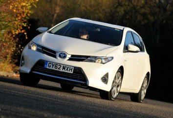 Konstrukcja i specyfikacja Toyota Auris