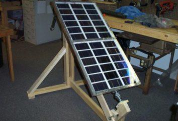 Panel słoneczny z rąk, jej produkcji i montażu
