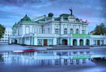 Omsk Teatr Dramatyczny: historia, repertuar, trupy