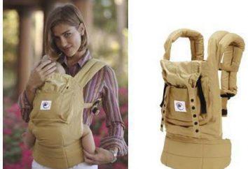Ergo mochila para recém-nascidos: uma visão geral, características, descrições, instruções, pontos de vista e opiniões