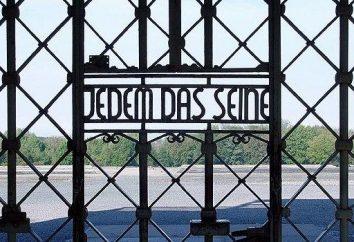 """La inscripción en las puertas de Buchenwald: """"A cada uno su propia"""""""