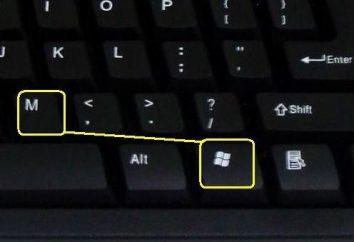 Como rapidamente minimizar todas as janelas no Windows XP e 7