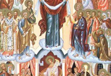 Per le vacanze di intercessione della Vergine Santa (14 ottobre). Tradizioni sulla Sindone