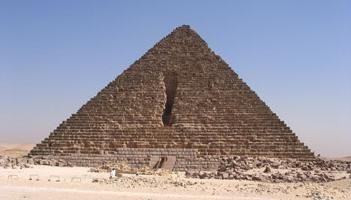 Piramide Micerino a Il Cairo