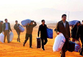 Types de migration de population: classification, raisons