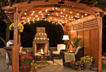 Un canopée pour une résidence d'été – une excellente variante de repos