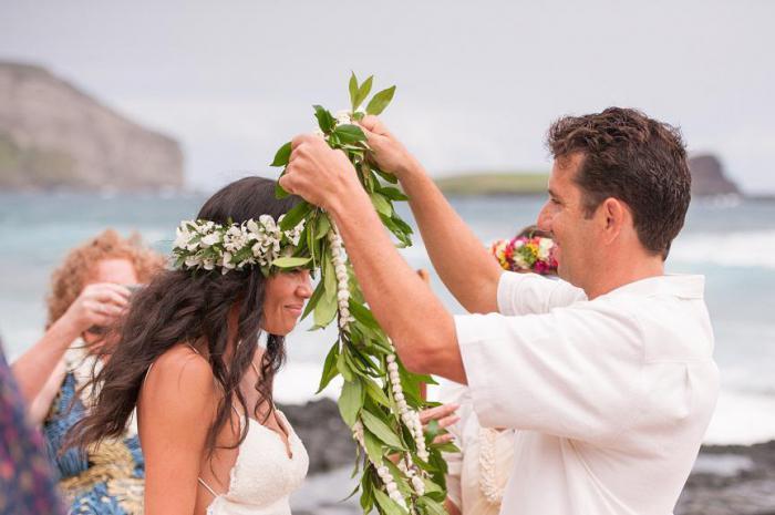 Matrimonio Simbolico Hawaii : Come sono abiti da sposa tradizionali in diversi paesi