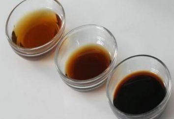 condimento per i piatti deliziosi: la salsa di soia, la composizione, l'uso di