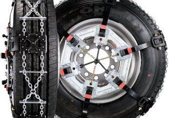 Le catene da neve aumentano veicolo pervietà in condizioni stradali difficili