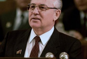 Le premier président de l'URSS: le créateur, ou …?