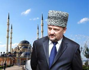 Eroe della Russia Kadyrov Ahmat Abdulhamidovich: biografia
