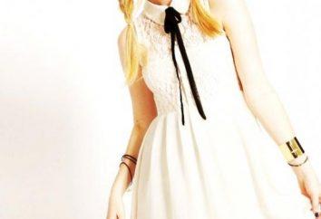 robe moderne avec col