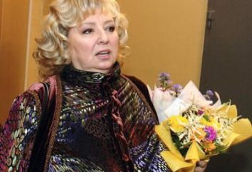 Lo delgado Tarasova Tatyana Anatolevna: dieta en particular