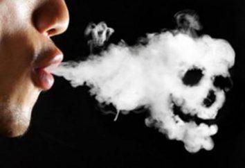 Monete contro il fumo. Legge sul fumo (2014). Sui pericoli del fumo