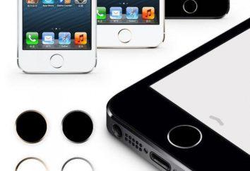 IPhone à bouton-poussoir: description et caractéristiques