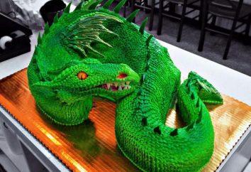 """""""Dragon"""", o bolo: um passo a passo de cozinha"""