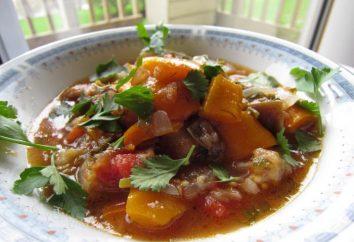 Wie kochen ajapsandali? Georgische und armenischen Rezepte