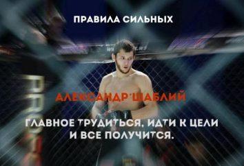 Alexander Shabliy – młody wojownik MMA