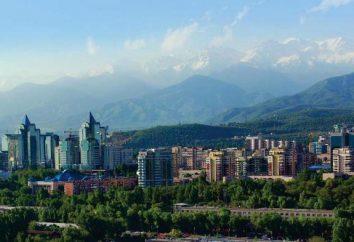 Góry Almaty: krótki opis