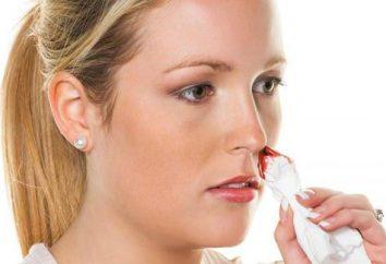 Przedni i tylny tamponada nosa: wskazania i opis procedury
