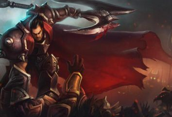 League of Legends, Darius: Hyde. Darius: die Beschreibung des Helden
