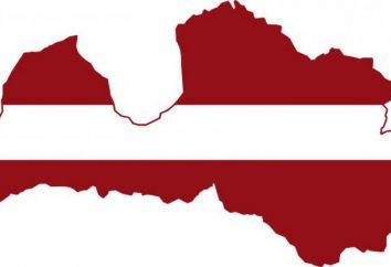 Sai dove la Lettonia sulla mappa del mondo?