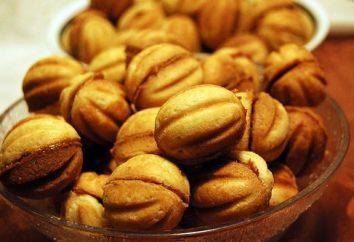 biscuits savoureux et sucrés « noix »: recette